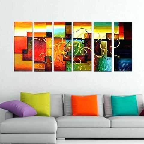 Large Abstract Wall Art Canada | Slisports Regarding Abstract Wall Art Canada (Image 11 of 20)