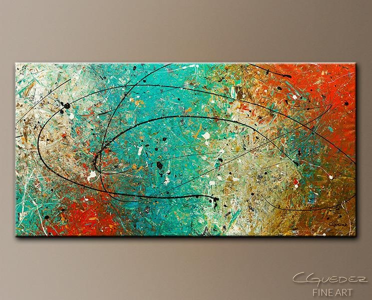 Featured Image of Large Abstract Wall Art