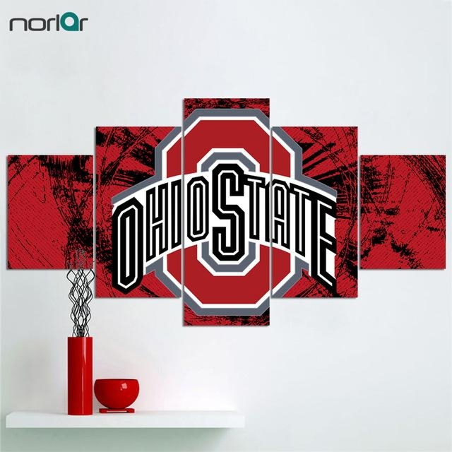 Limited Edition Contemporary Giclee Print The Ohio State Pertaining To Limited Edition Canvas Wall Art (View 14 of 20)