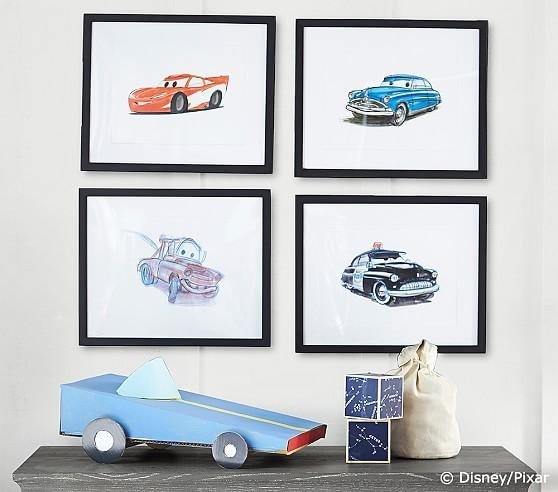 Limited Edition Disney•pixar Cars Art | Pottery Barn Kids Regarding Limited Edition Wall Art (View 14 of 20)