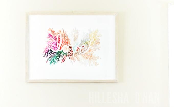 Love Is In The Air At Minted: Love Wall Art Printkelly Ventura For Limited Edition Wall Art (View 19 of 20)