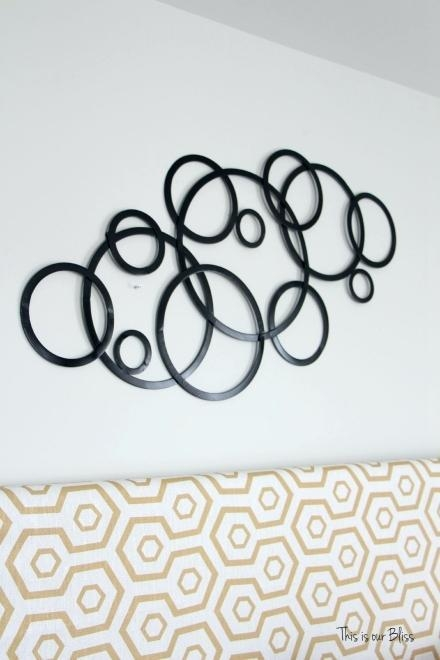 Metal Wall Art Circles – Hydroloop Within Circle Bubble Wave Shaped Metal Abstract Wall Art (Image 18 of 20)