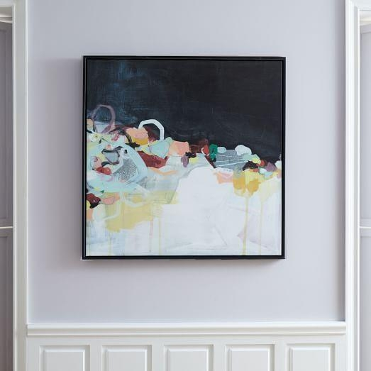 Minted For West Elm – Abstract Landscape | West Elm For West Elm Abstract Wall Art (Image 15 of 20)