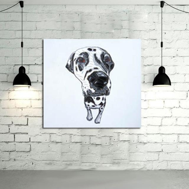 Featured Image of Abstract Dog Wall Art