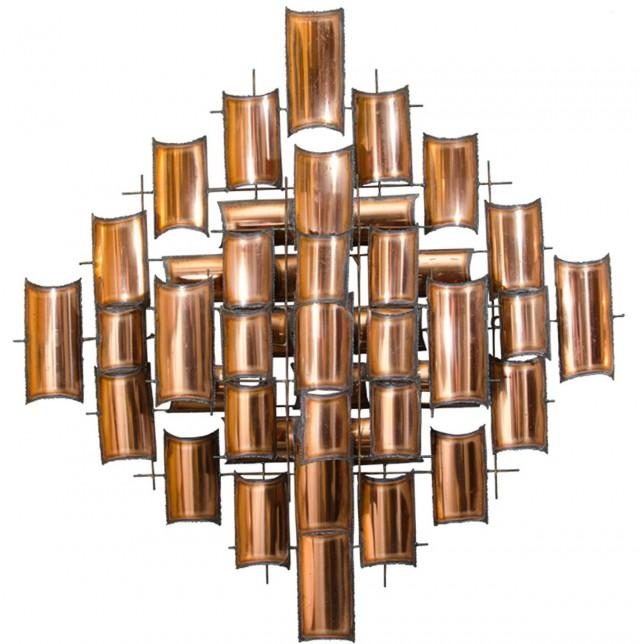 Modern Copper Wall Art | Home Design Ideas For Abstract Copper Wall Art (Image 12 of 20)