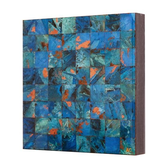 Online Art Gallery Of Contemporary Copper Art For Salecanadian Throughout Abstract Copper Wall Art (Image 13 of 20)