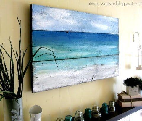 Outstanding Best 25 Beach Wall Art Ideas On Pinterest Beach With Abstract Beach Wall Art (Image 14 of 20)