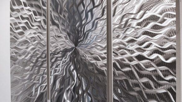 Outstanding Modern Abstract Metal Wall Sculpture Art Contemporary With Abstract Angkor Swirl Metal Wall Art (Image 8 of 20)