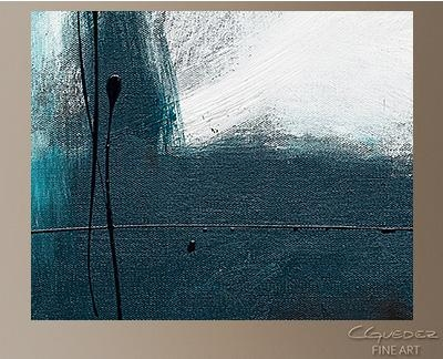 Oversized Abstract Wall Art – Blue Harbour – Huge Large Original For Blue Green Abstract Wall Art (Image 15 of 20)