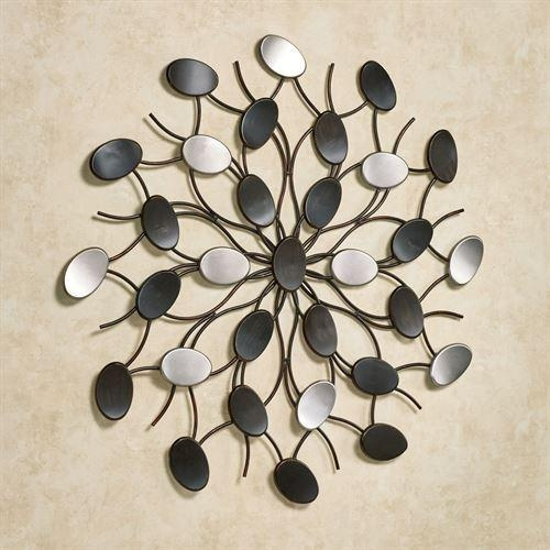 Radiant Petals Abstract Metal Wall Art With Abstract Metal Wall Art (Image 17 of 20)