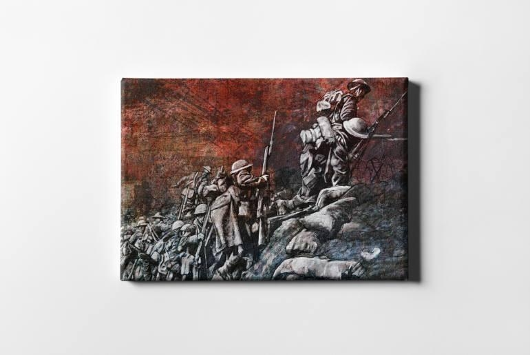 Saatchi Art: Remembrance Day Art Original Limited Edition Canvas Throughout Limited Edition Canvas Wall Art (View 17 of 20)
