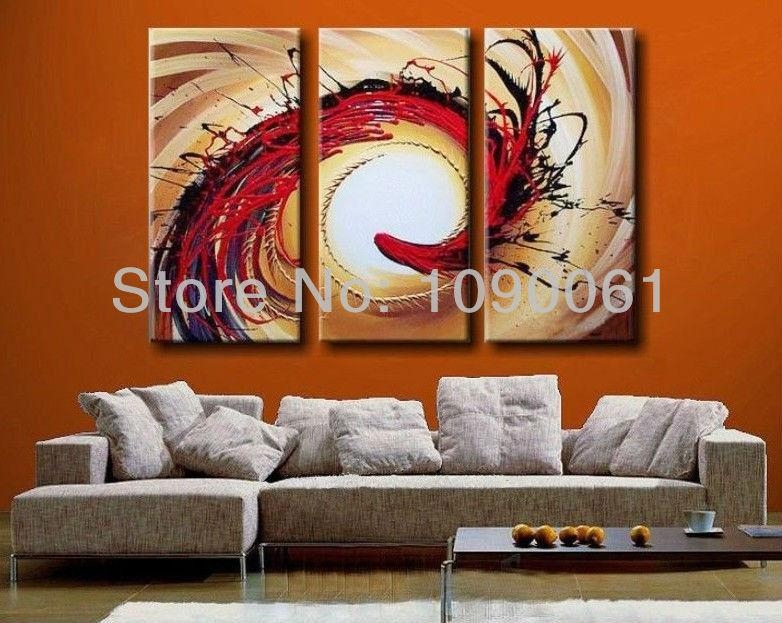 Science Fiction,hand Painted Abstract Acrylic Paintings On Canvas With Regard To Abstract Buddha Wall Art (View 15 of 20)