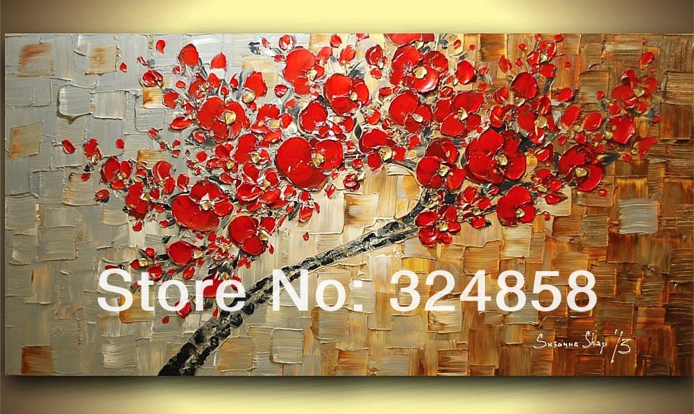 Sculpture Copper White Bule Gold Abstract Modern Texture Palette For Cherry Blossom Oil Painting Modern Abstract Wall Art (View 20 of 20)