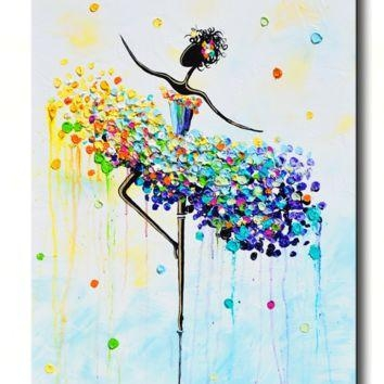 Shop Colorful Abstract Wall Art On Wanelo Intended For Colourful Abstract Wall Art (Image 10 of 20)