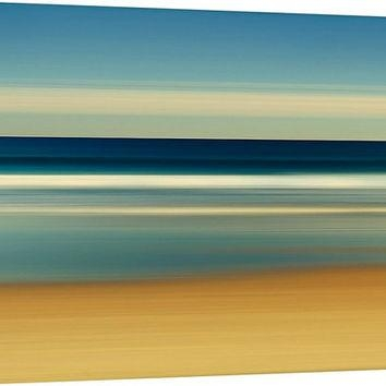 Shop Large Abstract Ocean Canvas Art On Wanelo With Regard To Abstract Beach Wall Art (View 17 of 20)