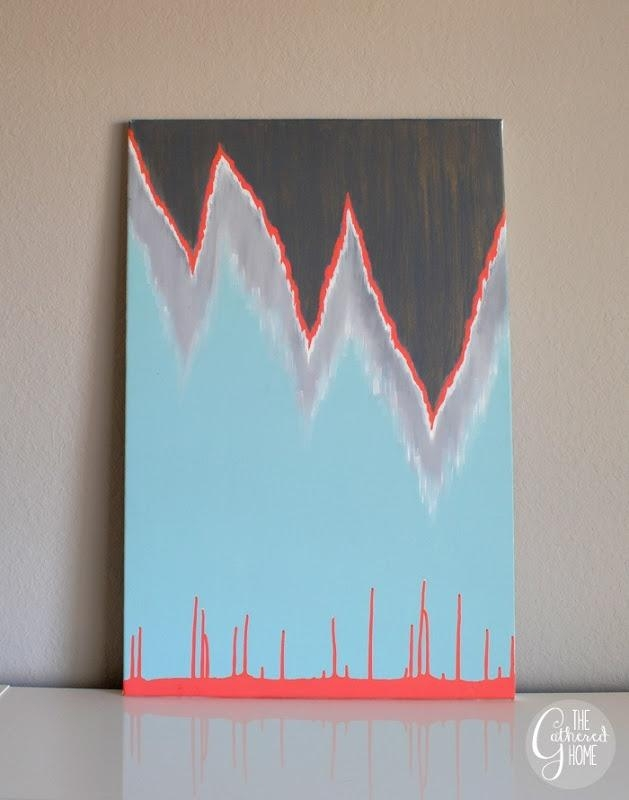"""Stalactites And Stalagmites"""" Diy Art 