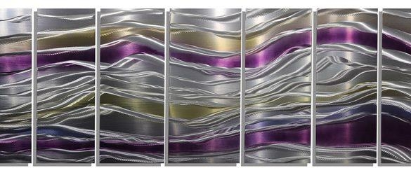 Unusual Purple Metal Wall Art Together With Haze Butterflies Dark With Regard To Dark Purple Abstract Wall Art (View 12 of 20)
