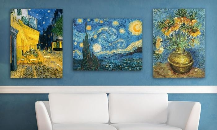Van Gogh Canvas Art Print | Groupon Goods For Vincent Van Gogh Wall Art (Photo 11 of 20)