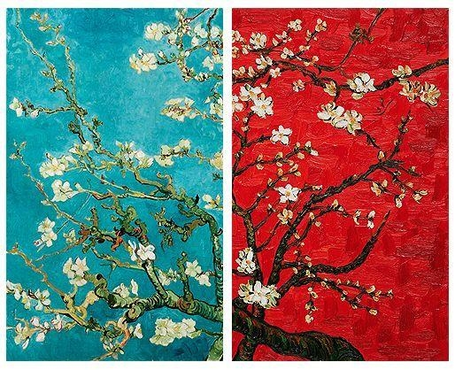 Van Goght Almond Blossoms | Impressionism | Pinterest | Van Gogh Pertaining To Almond Blossoms Vincent Van Gogh Wall Art (Image 14 of 20)