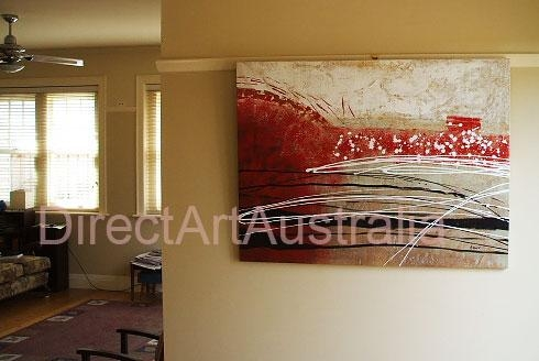 View & Buy Finished Framed Oil Paintings & Portraits Online For Abstract Wall Art Australia (Image 16 of 20)