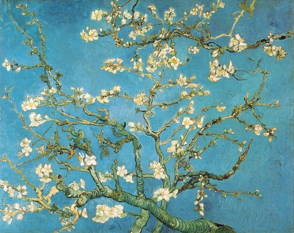 Vincent Van Gogh: The Paintings (Blossoming Almond Tree) Intended For Almond Blossoms Vincent Van Gogh Wall Art (Image 18 of 20)