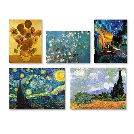 Vincent Van Gogh Wall Collection'' Multi Panel Art Collection Regarding Vincent Van Gogh Wall Art (Image 19 of 20)