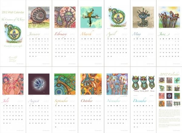 Wall Art Decor: 2016 Fine Art Wall Calendars, Street Art 2016 Pertaining To Abstract Calendar Art Wall (View 3 of 20)