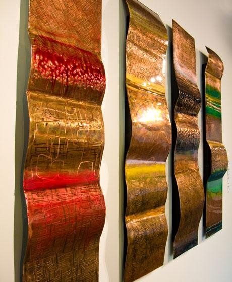 Wall Art Design: Rustic Outdoor Copper Wall Art, Artists Who Work Intended For Abstract Copper Wall Art (Image 16 of 20)