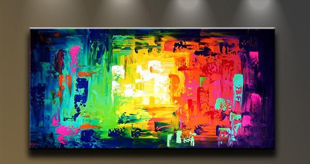 Wall Art Designs: Abstract Canvas Wall Art Large Abstract Canvas For Colourful Abstract Wall Art (Image 14 of 20)