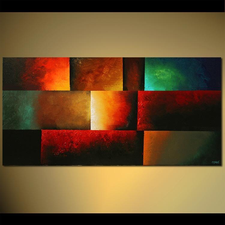 Wall Art Designs: Abstract Wall Art Modern Abstract Art Painting Inside Bright Abstract Wall Art (Image 16 of 20)