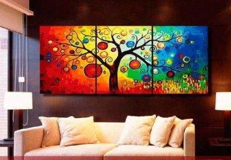 Wall Art Designs: Awesome Shop The Latest Colorful Abstract Wall Throughout Colourful Abstract Wall Art (Image 17 of 20)