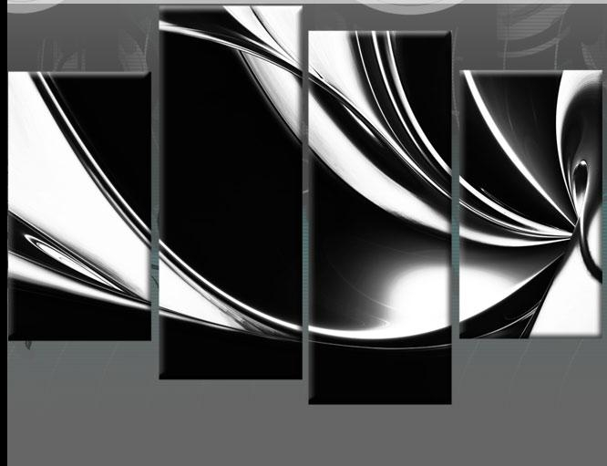 20 black and white abstract wall art wall art ideas. Black Bedroom Furniture Sets. Home Design Ideas