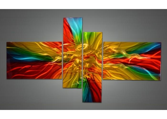 Wall Art Designs: Colorful Wall Art Urban Photography Nyc Rainbow Regarding Bright Abstract Wall Art (Image 18 of 20)