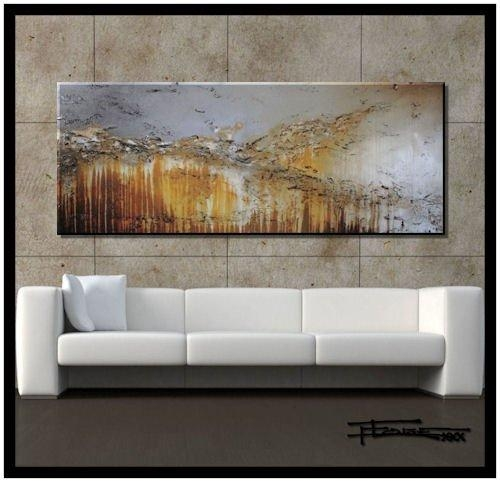 Wall Art Designs: Contemporary Wall Art Decor Oversized Abstract Inside Brown Abstract Wall Art (Image 19 of 20)