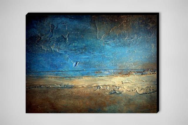 Wall Art Designs: Large Abstract Wall Art Wall Art Design Large For Blue And Brown Abstract Wall Art (Image 17 of 20)