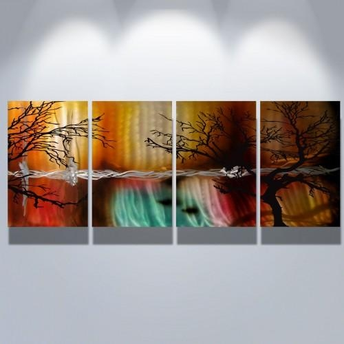 Wall Art Designs: Modern Abstract Wall Art Metal Wall Art Abstract Pertaining To Contemporary Abstract Wall Art (Image 19 of 20)
