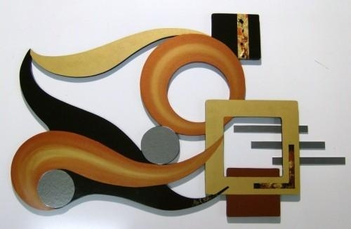 Wall Art: Top Ten Galleries Unique Metal Wall Art Custom Metal With Sculpture Abstract Wall Art (Image 19 of 20)