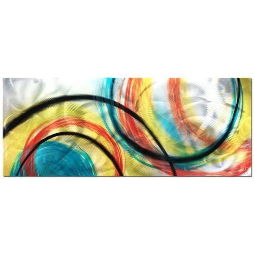 Wall Arts ~ Eternal Swirl Metal Wall Art Metal Wall Art Abstract Throughout Abstract Angkor Swirl Metal Wall Art (Image 14 of 20)