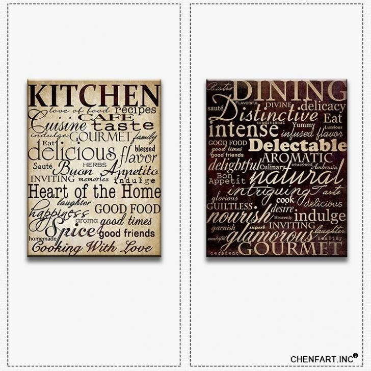 Featured Image of Kitchen Canvas Wall Art