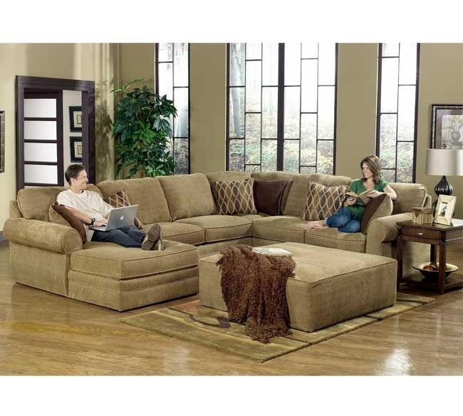 10 Best Furniture Images On Pinterest | Family Rooms, Living Rooms Regarding Broyhill Sectional Sofas (Image 1 of 10)