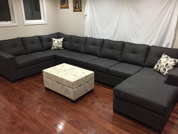 10 Best U – Shape Sectionals Images On Pinterest | Sofa, Sofas And Intended For Mississauga Sectional Sofas (Image 1 of 10)