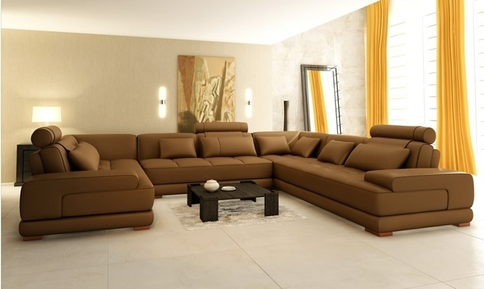 10 Ideas Of Deep U Shaped Sectionals For Deep U Shaped Sectionals (Image 1 of 10)