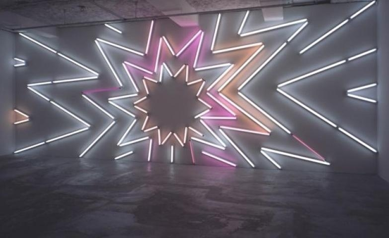 100+ Creative Neon Signs & Ads Regarding Abstract Neon Wall Art (View 4 of 20)