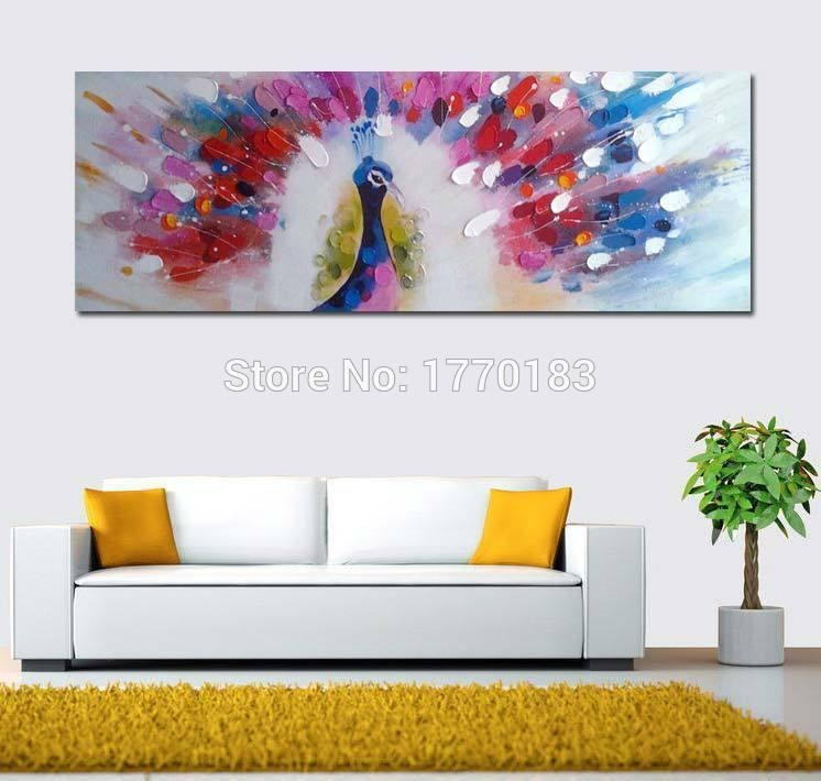 100% Hand Painted Canvas Wall Art Large Abstract Oil Painting Inside Hand Painted Canvas Wall Art (Image 1 of 20)