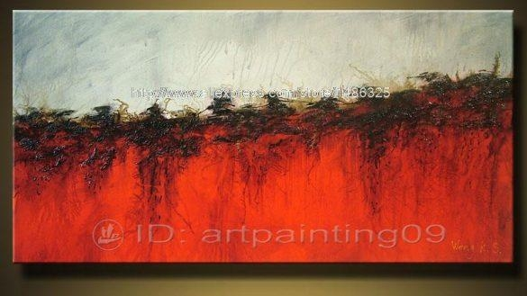 100 Handmade Unframed Abstract Horse Canvas Painting Canvas Art Throughout Ottawa Abstract Wall Art (View 13 of 20)