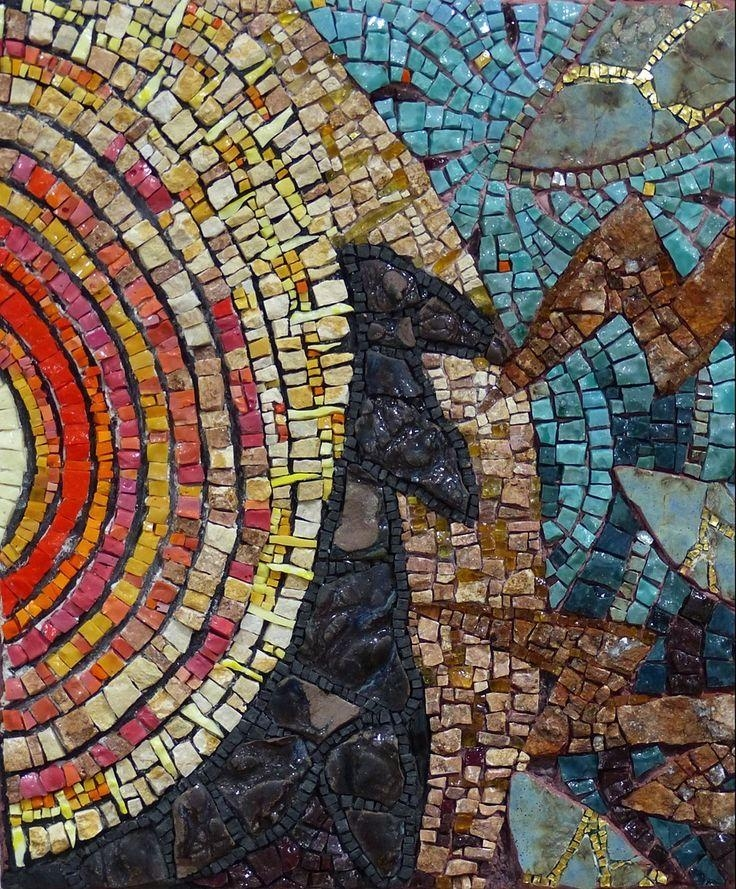 101 Best Smalti Images On Pinterest | Mosaic Art, Mosaic Ideas And With Abstract Mosaic Art On Wall (Image 1 of 20)
