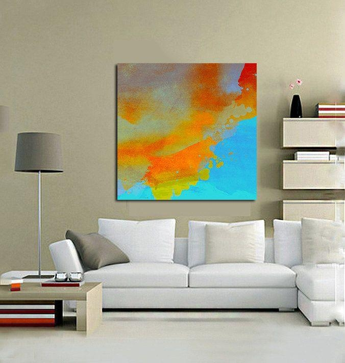 102 Best Half Baked Art (Abstracts) Images On Pinterest | Extra Intended For Abstract Oversized Canvas Wall Art (Image 1 of 20)