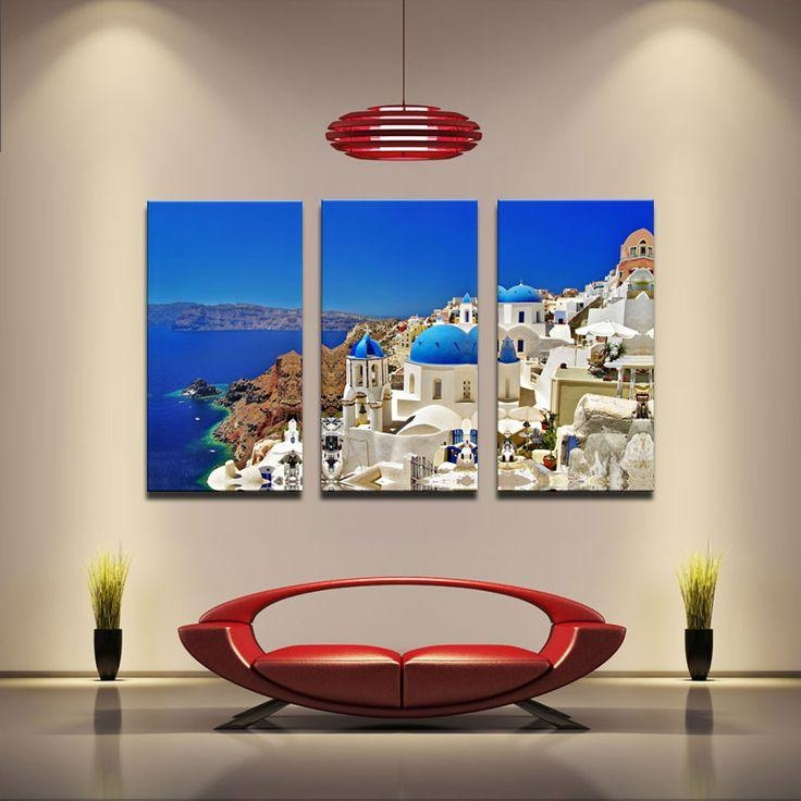 11 Best Quadros Images On Pinterest | Frames, Canvas Prints And Pertaining To Greece Canvas Wall Art (Image 2 of 20)