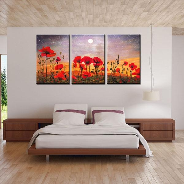 11 Years Manufacturer Hd Canvas Prints Art Flower Oil Painting Throughout Canvas Wall Art Of Philippines (Image 2 of 20)