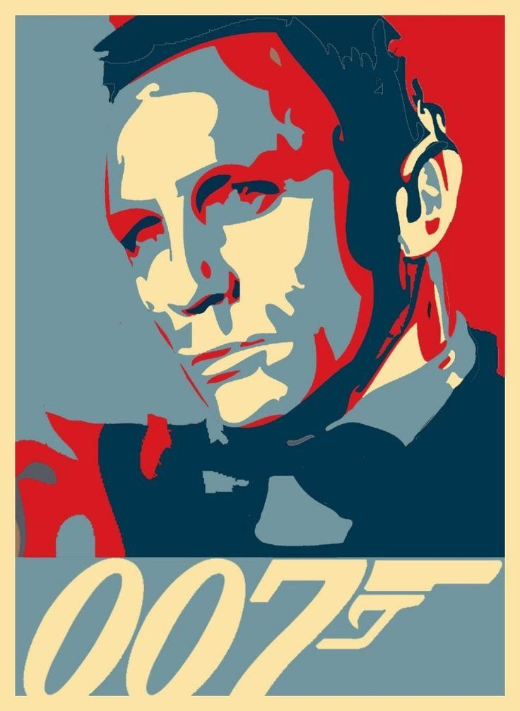 110 Best James Bond Inspiration Images On Pinterest | Theme Intended For James Bond Canvas Wall Art (Image 1 of 20)